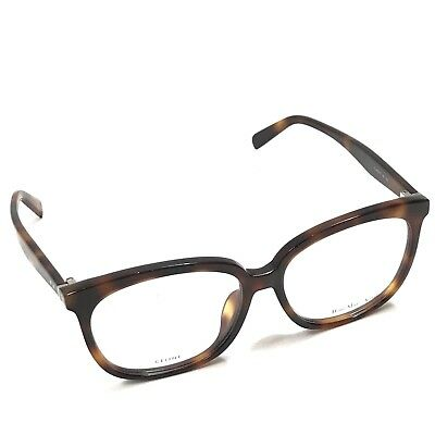 5b607fc49e3 Celine CL 41357 F Asian Fit 05L Tortoiseshell Eyeglasses Spectacles Frame  Only