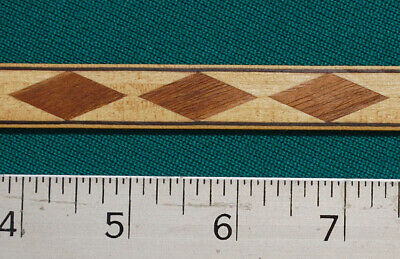 ".6"" Floating Diamond  -- Marquetry Banding Strips (Inlay-98b)"