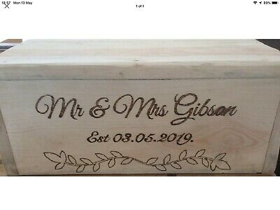 Rustic Wedding Cake/cheese Stand Wooden Personalised Slab Centrepiece, Engraved