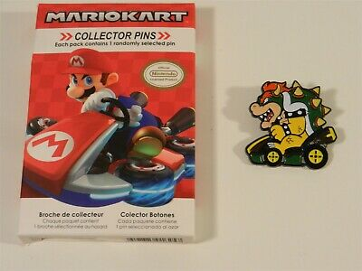 Nintendo Super Mario Kart Series 2 Collector Pins - Bowser