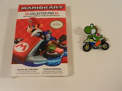 Nintendo Super Mario Kart Series 2 Collector Pins - Yoshi