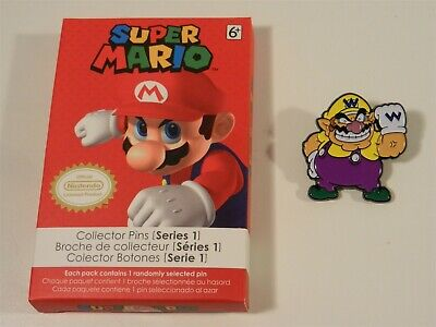 Nintendo Super Mario Series 1 Collector Pins - Wario