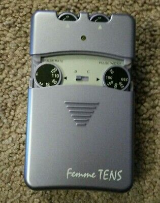 Femme TENS machine with Booster for Labour Pain Relief with brand new pads