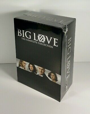 Big Love: The Complete Series (DVD, 2011, 20-Disc Set) Season 1 2 3 4 5 - NEW!