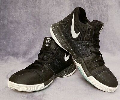 size 40 0a544 a93a8 NIKE KYRIE 3 Basketball Shoes 859466-018 Black Ice metallic Silver Boys  Size 4Y -  12.99   PicClick