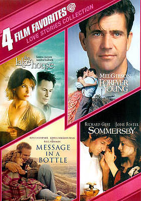 The Lake House, Forever Young, Message in a Bottle, Sommersby DVD Love Stories