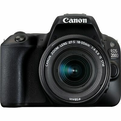 Canon EOS 200D Kit 18-55mm F4-5.6 IS STM