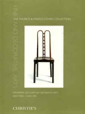 Christie's The Maurice & Margo Cohen Collection. Important 20Th Century Decorati