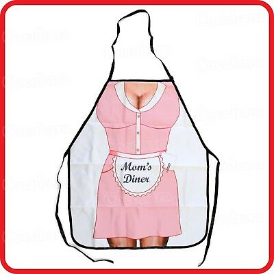 APRON-ATTITUDE FUNNY-MAGNIFYING GLASS SEE TINY WILLY DICK COCK PENIS-BBQ-PARTY