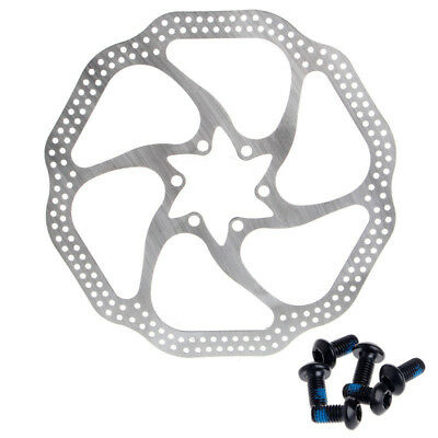 Durable Cycling Bicycle MTB Mountain Bike Brake Disc Rotor 180mm With 6 Bolts US