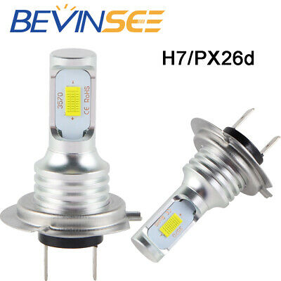 2008-2014 PIAGGIO MP3 500 LOW//HIGH LED HEADLIGHT BULB 6000K 100W 1000LM