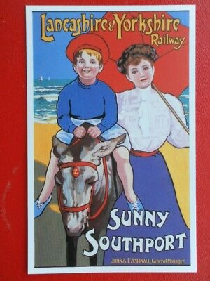Postcard Lancashire And Yorkshire Railway - Sunny Southport