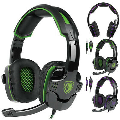 Sades SA-930 Stereo Gaming Headsets Headphones with MIC for PS3 PS4 Xbox ONE 360
