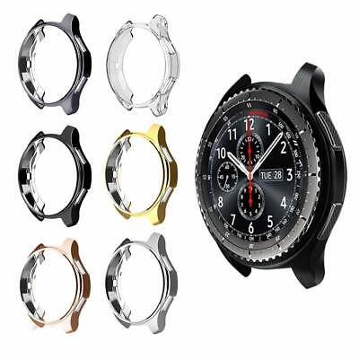 Soft TPU Protector Watch Cover Case For Samsung Gear S3 Frontier / Galaxy 46mm