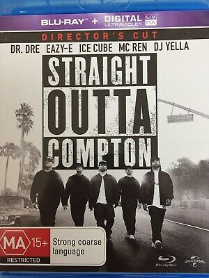 Straight Outta Compton - Bluray 2016 As New!