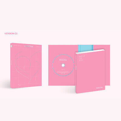 BTS MAP OF THE SOUL : PERSONA Album Ver1 CD+Photobook+Card+Etc+Tracking #