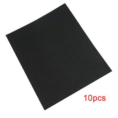 10pcs SANDING SHEETS Wet/Dry Silicon Carbide Waterproof Sandpaper Grits hot