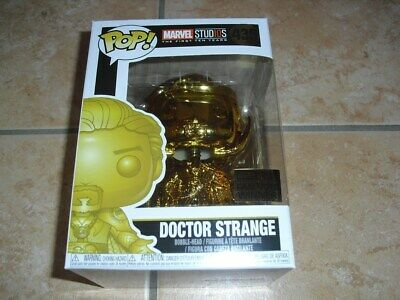 Funko Pop! # 439 Doctor Strange Gold Chrome Fan Vote Winner | MARVEL | NEU / OVP