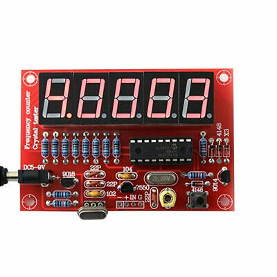 1Hz-50MHz Top Oscillator Frequency Counter Meter Digital 5-LED Tube PIC D PUM