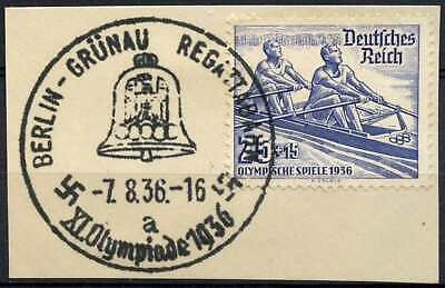 Germany Third Reich 1936 SG#612, 25pf Olympic Games Used #D85553