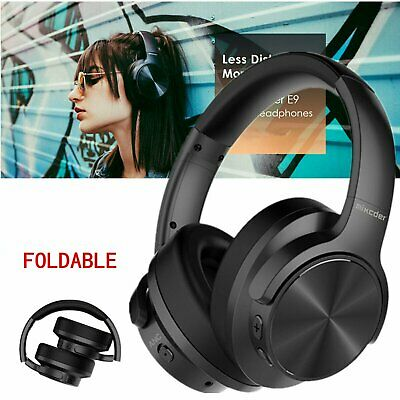 Mixcder E9 Bluetooth Headphones HIFI Noise Cancelling Deep Bass Headset Over Ear