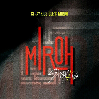 STRAY KIDS [CLE 1:MIROH] Album NORMAL 2 Ver SET+2p POSTER+2Book+6Card+1Pre-Order