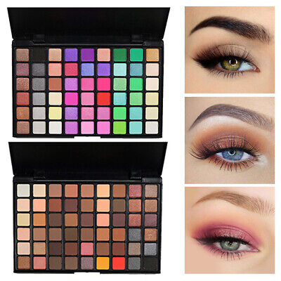54Color Eye Shadow Powder Palette Natural Shimmer Matt Eyeshadow Makeup Cosmetic