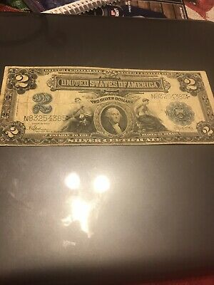 Silver certificate George washington 1899