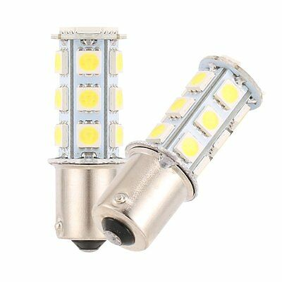 10 X White 1156 BA15S 18SMD 5050 LED Turn Signal Backup Reverse Light Bulbs 12V