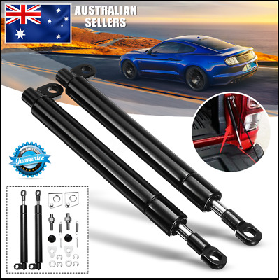 2X Rear Tailgate Slow Down Easy Up Oil Damper Gas Strut For Ford PX Ranger Door