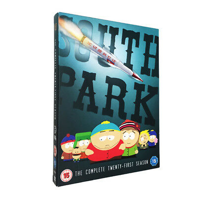 South Park Season 21 DVD - Postage Free - New/Sealed- Region 2 UK