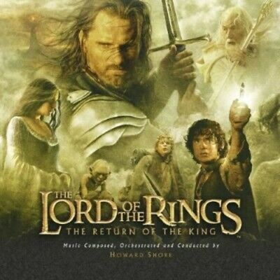 Soundtrack: Howard Shore - The Lord of the Rings: The Return of the King CD NEW