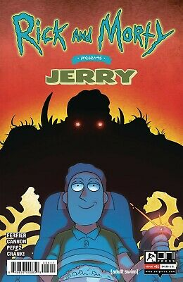 RICK & MORTY PRESENTS JERRY #1 (2019)  - Cover A - New Bagged