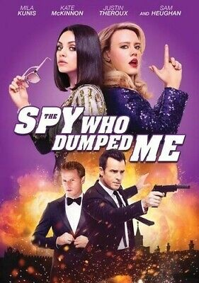 The Spy Who Dumped Me DVD NEW