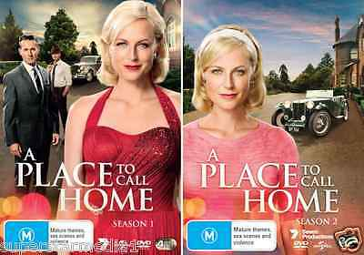 A Place To Call Home Season 1 & 2 : NEW DVD