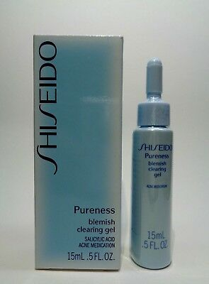 Shiseido Pureness Blemish Clearing Gel  0.5 oz.  Sealed  With Box
