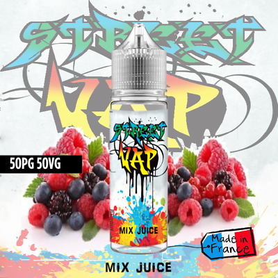 E liquide Mix juice - 50ml - Street Vap