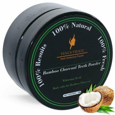 MayBeau Three Trees Beauty Teeth Whitening Activated Charcoal Powder
