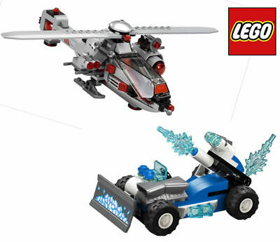 LEGO Super Heroes HELICOPTER & ICE CAR NO MINIFIGS or BOX - Split From 76098 Set