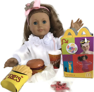 McDonald's Happy Meal Food for American Girl Dolls 18 inch Accessories Fits SET