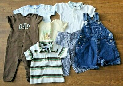 a3e2736bc4ca LOT OF 29 PC 12-18 M Baby Boy Clothes Outfits Spring Summer -  36.99 ...