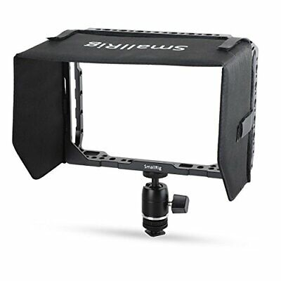 SMALLRIG Monitor Cage para Blackmagic Video Assist (jaula con campana solar)