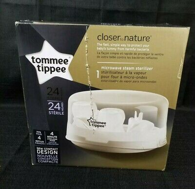 Tommee Tippee Closer to Nature Microwave Bottle Steam Sterilizer