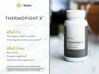 It Works Thermofight X 60 Capsules - Delivery 2 -4Week .Pre-Order Avg 31 LB Loss