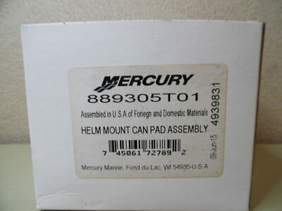 OEM Mercury Mercruiser Quicksilver 889305T01 Helm Mount Can Pad Assembly