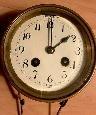Vintage Clock Face And Movement For Spares/Repairs