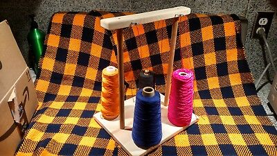 Weaving Yarn 4 Cone Holder Guide Bobbin Loom Warping Boat Shuttle Accessories