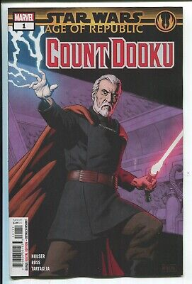 Star Wars: Age Of Republic - Count Dooku #1 - Paolo Rivera Main Cover - 2019