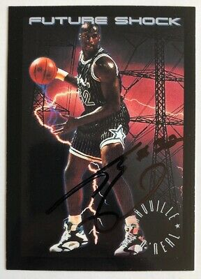 Shaquille O'Neal Hand Signed Future Shock Auto 100% Authentic!!