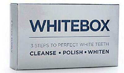 WHITEBOX Professional Advanced Teeth Whitening Strips Made by UK based dentists
